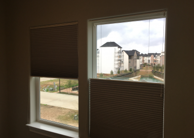 Pleated Blackout Cellular Shades